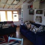 little wooden house, bacton, beaches, north norfolk,
