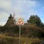 frogs, roadsigns, norfolk, Dilham