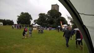 Worstead Festival. Church, Norfolk