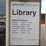 Library, North Walsham, North Norfolk