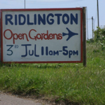 Open Gardens, Norfolk, Ridlington