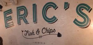 Fish & chips; Norfolk; Thornham. Barn & Beach